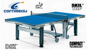 Cornilleau - Table De Ping Pong Tennis De Table Compétition 740 Ittf Montée